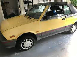 No Charge For Duct Tape! 1990 Yugo Cabrio