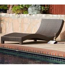 Vallarta Wicker Lounge Chair