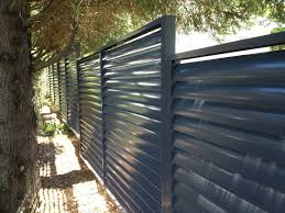 Louvers Fence With Fixed Welded Louvers - Eco Awnings Awning Awnings Brisbane U Carbolite Sydney Outdoor Bunnings Domus Window Lumina And Barrel Vault Eco Canter Lever Louvers Cantilever External And Melbourne Lifestyle Blinds Modern By Apollo In Retractable Door White With