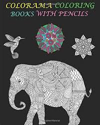Amazon Colorama Coloring Books With Pencils An Adult