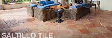 saltillo tile floors flooring design