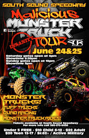 Monster Trucks, Tough Trucks And Quad Wars | South Sound Speedway