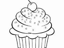 Kawaii Cupcake Coloring Pages Awesome Cute Cupcakes Coloring Pages