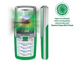 Tiga Ponsel Varian Baru Esia Hidayah sambut Ramadhan