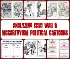 Iron Curtain Cold War Apush by Analyzing Cold War U0026 Mccarthyism Political Cartoons Red Scare