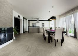 porcelain tile with mixed look of wood and concrete from