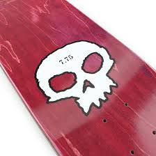 zero skateboards single skull 775 deck black 04 supereight net