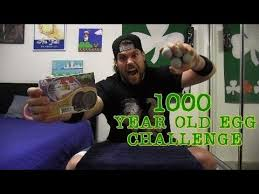 1000 YEAR OLD EGG CHALLENGE Featuring L A BEAST
