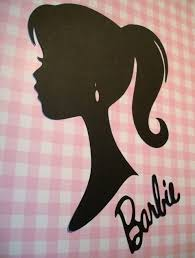 Fashion Doll Girl Silhouette Centerpieces Wall Decoration Party Supply Die Cut Paper Cuttings 9 Inch Tall 20 Colors