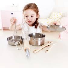 Hape Kitchen Set Canada by Chef U0027s Cooking Set E3137 Hape Toys