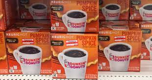Dunkin Pumpkin Spice by 2 New Dunkin U0027 Donuts Coffee Coupons U003d K Cups As Low As 30 Each At