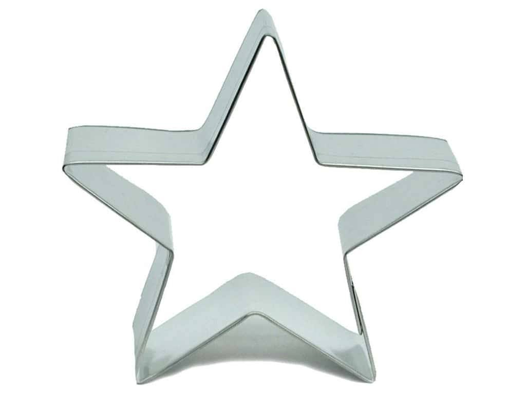 Fox Run Star Cookie Cutter - 3""