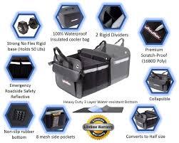 Premium Car Trunk Organizer   Cooler Insulated Leakproof Bag   SUV ...