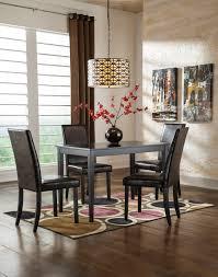 ashley signature design kimonte 5 piece counter table set with