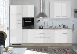 küche laurel küchenblock küchenzeile komplettküche 310cm singleküche miniküche kleinküche weiß eiche sonoma