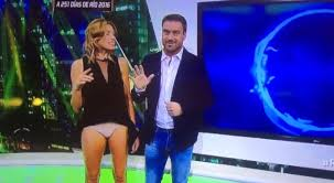 News Reporter Alina Moine Flashes Her Underwear To The Nation