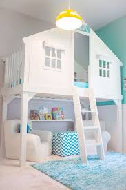 Tree House Bed Via Of Turquoise And Other Totally Cool Kids Bedrooms