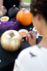 Ways To Carve A Pumpkin Fun by No Carve Pumpkin Decorating Party