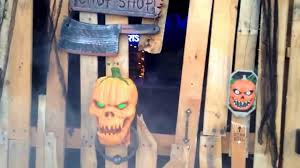 Goebberts Pumpkin Farm Haunted House by A Fun Haunted House In Gardner Ks Youtube