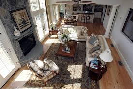 to the open floor plan live separate rooms