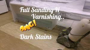 Dog Urine Stains On Hardwood Floors Removal by How To Remove Stains From Wood Parquet Floors Youtube