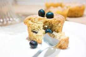 leichte mandel blaubeer muffins fruchtig low carb