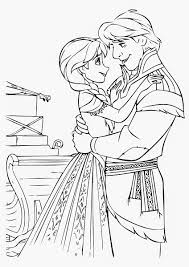Anna Frozen Coloring Pages Printable