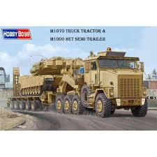 100 Model Semi Truck Kits 135 Hobby Boss 85502 M1070 Tractor M1000 HET Trailer