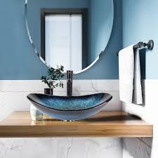 waschbecken glas aufsatzwaschbecken waschschale waschtisch