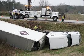 100 Truck Ramp Crashes On I20 Ramp In Heflin Cleburne County
