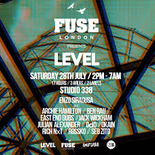 100 Level Studio RA Fuse Presents Day Night At 338 London 2018