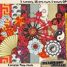 Mini Kit Chinese New Year A Digital By DigitalScrapWorld