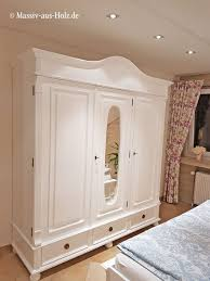 das weiße schlafzimmer massiv aus holz großer