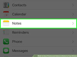 How to Save s and Videos in Notes to Your iPhone 8 Steps
