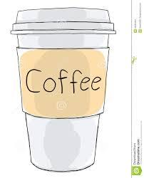 Coffee Cup Take Away Illustration 42694303