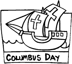 Columbus Day Coloring Pageprintablecoloring Pages