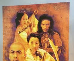 100 Chen Chow Crouching Tiger Hidden Dragon Movie Poster Ang Lee Yun Fat Yeoh Pinup