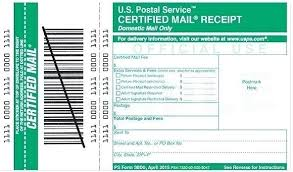 How To Track A Certified Letter Usps Track Certified Mail Sender