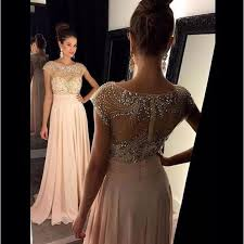 Pink Prom DressesPink Evening GownsSimple Formal DressesProm DressesTeens Fashion GownBeadings DressPink Party DressChiffon