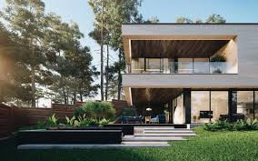 104 River Side House Gated Side Modern In Ukraine Surrounded By Nature Idesignarch Interior Design Architecture Interior Decorating Emagazine