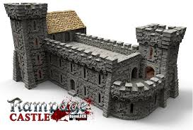 3d Dungeon Tiles Kickstarter by Printable Scenery Is Returning To Kickstarter To Bring Us A Castle