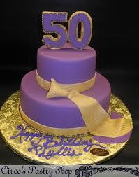 50Th Birthday Cake Decorating Ideas