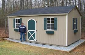 10x20 Storage Shed Kits by Gravel Foundation Recommended For The Storage Sheds