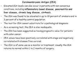 cea marker normal range tumor markers basic concepts and terminology cancer ppt