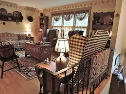 Primitive Living Room Curtains by Primitive Decorating Ideas For Living Room Handcrafted Furniture