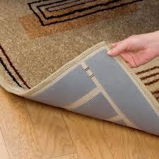 furniture magnificent non slip rug pad 8 x 10 cushioned non slip