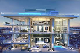 100 Seattle Penthouses Miami Beach Penthouse With Pool Lists For 33 Million WSJ