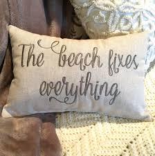 Decorative Lumbar Throw Pillows by Pillow Throw Pillow Decorative Pillow Beach Pillow Words