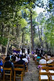 Wedding At Las Vegas Ski And Snowboard Resort Outdoor Woodsy Scenic