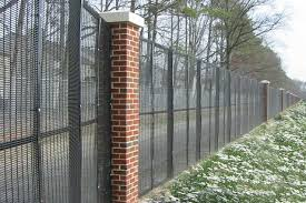 The Drawing Of Anti Climb Fence Installation Including Wirewall Welded High Security Fencing Security Application